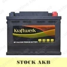 Аккумулятор STOCK Kraftwerk 60Ah 500A R+