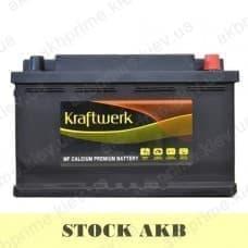 Аккумулятор STOCK Kraftwerk 80Ah 780A R+