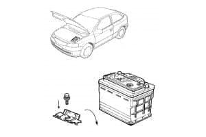 Крепление автомобильных аккумуляторов