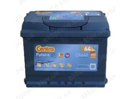 Аккумулятор Centra Futura 64Ah 640A R+