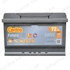 Аккумулятор Centra Futura 72Ah 720A R+