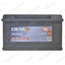 Аккумулятор Deta Senator 3 Carbon Boost 100Ah 900A R+
