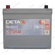 Аккумулятор Deta Senator 3 Carbon Boost Asia 75Ah 630A JL+