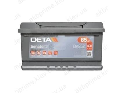 Аккумулятор Deta Senator 3 Carbon Boost 85Ah 800A R+