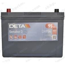 Аккумулятор Deta Senator 3 Carbon Boost Asia 95Ah 800A JL+