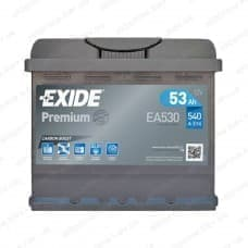 Аккумулятор Exide 53Ah 540A R+