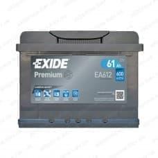 Аккумулятор Exide 61Ah 600A R+