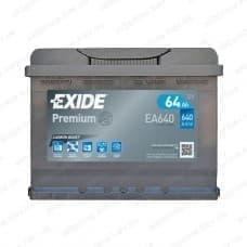 Аккумулятор Exide 64Ah 640A R+
