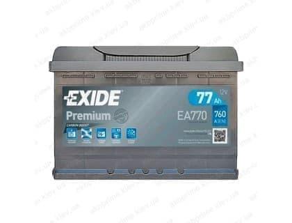 Аккумулятор Exide 77Ah 760A R+