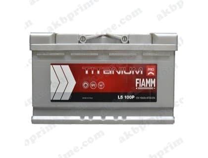 Аккумулятор Fiamm Titanium Pro 100Ah 870A R+