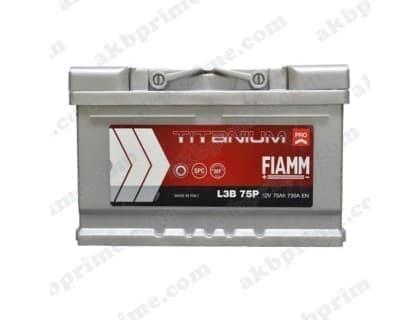 Аккумулятор Fiamm Titanium Pro 75Ah 730A R+