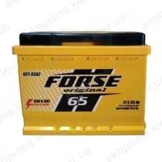 Аккумулятор Ista Forse 65Ah 640A R+