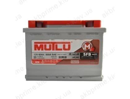 Аккумулятор Mutlu SFB 60Ah 540A R+