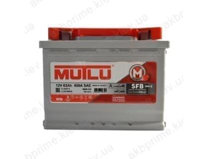 Аккумулятор Mutlu SFB 63Ah 600A R+