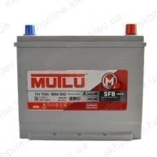 Аккумулятор Mutlu SFB 75Ah 640A JR+