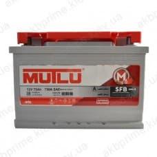 Аккумулятор Mutlu SFB 75Ah 720A R+