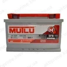 Аккумулятор Mutlu SFB 78Ah 780A R+ (низкобазовый)