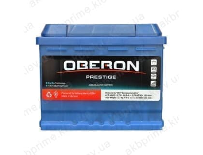 Аккумулятор Ista Oberon Prestige 60Ah 570A L+
