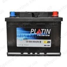 Аккумулятор Platin Premium 60Ah 600A R+