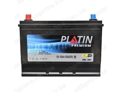 Аккумулятор Platin Premium Asia 100Ah 820A JL+