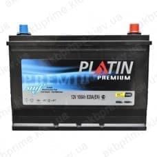 Аккумулятор Platin Premium Asia 100Ah 820A JR+