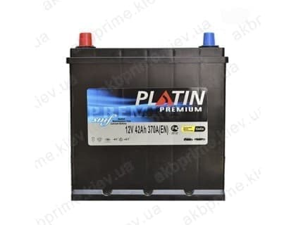 Аккумулятор Platin Premium Asia 42Ah 370A JL+