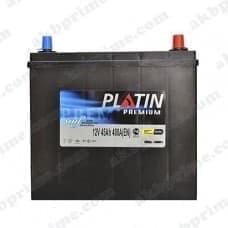 Аккумулятор Platin Premium Asia 45Ah 400A JR+