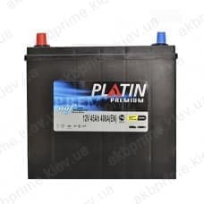Аккумулятор Platin Premium Asia 45Ah 400A JL+