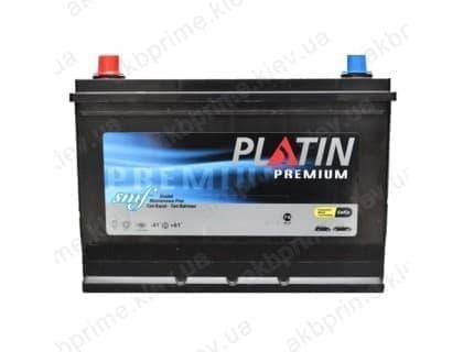 Аккумулятор Platin Premium Asia 90Ah 820A JL+