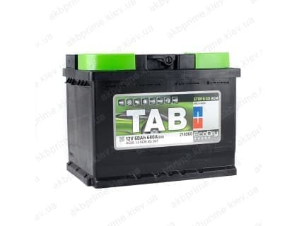 Аккумулятор TAB AGM Start Stop 60Ah 680A R+
