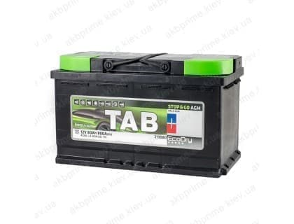 Аккумулятор TAB AGM Start Stop 80Ah 800A R+