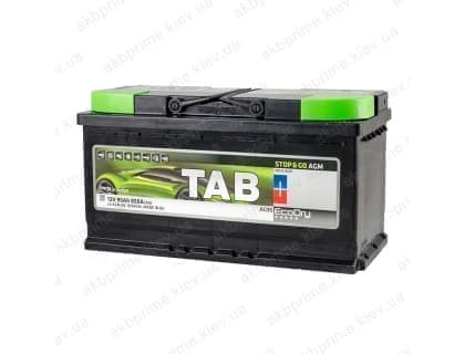 Аккумулятор TAB AGM Start Stop 95Ah 850A R+