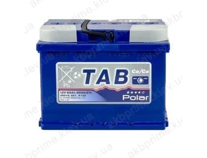 Аккумулятор TAB Polar Blue 60Ah 600A L+