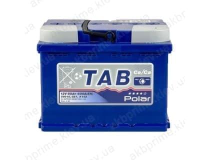 Аккумулятор TAB Polar Blue 60Ah 600A R+