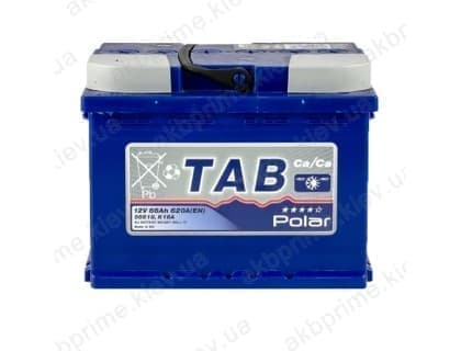 Аккумулятор TAB Polar Blue 66Ah 620A L+