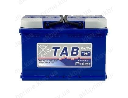 Аккумулятор TAB Polar Blue 75Ah 750A R+