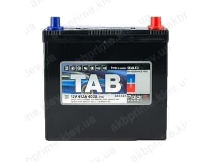 Аккумулятор TAB Polar S 45Ah 400A JR+