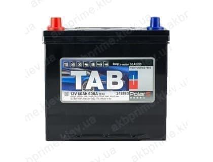 Аккумулятор TAB Polar S 60Ah 600A JL+