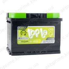 Аккумулятор Topla AGM Start Stop 60Ah 680A R+