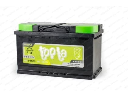 Аккумулятор Topla AGM Start Stop 80Ah 800A R+