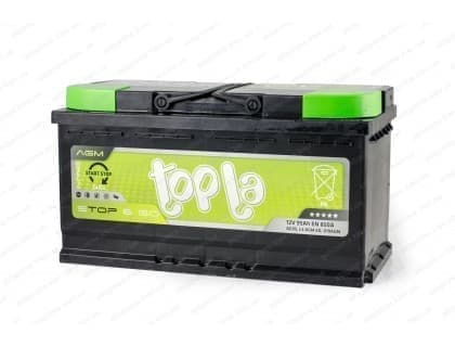 Аккумулятор Topla AGM Start Stop 95Ah 850A R+