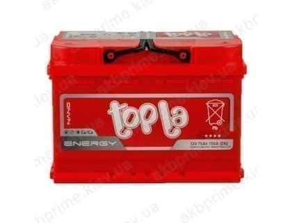 Аккумулятор Topla Energy 75Ah 750A R+