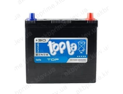 Аккумулятор Topla Top Asia 55Ah 540A JR+