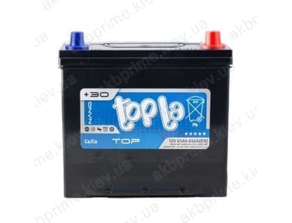 Аккумулятор Topla Top Asia 65Ah 650A JR+