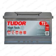 Аккумулятор Tudor High-Tech 72Ah 720A R+