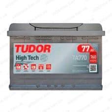 Аккумулятор Tudor High-Tech 77Ah 760A R+
