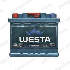 Аккумулятор Westa Premium 50Ah 480A L+