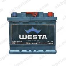Аккумулятор Westa Premium 50Ah 480A R+