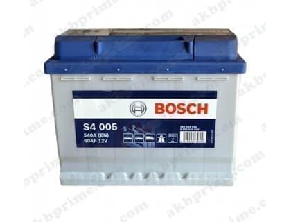 Аккумулятор Bosch Silver 60Ah 540A R+
