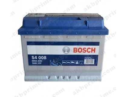 Аккумулятор Bosch Silver 74Ah 680A R+